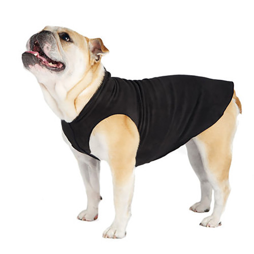 Gold Paw Series Stretch Fleece - Black