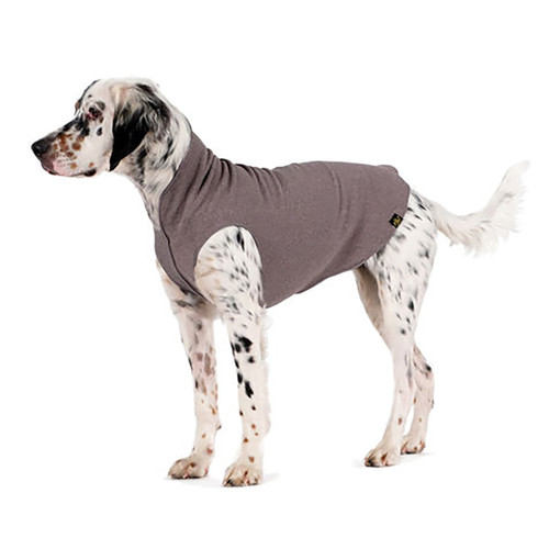 Gold Paw Series Stretch Fleece - Charcoal Grey