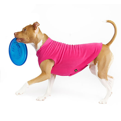 Gold Paw Series Stretch Fleece - Fuschia