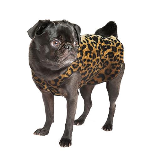 Gold Paw Series Stretch Fleece - Leopard