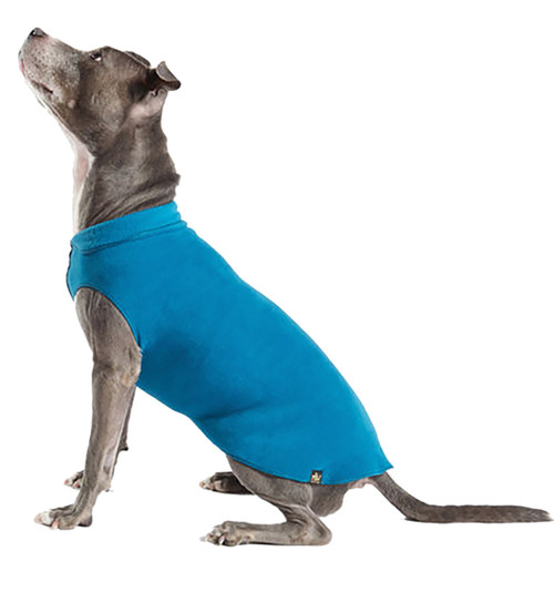 Gold Paw Series Stretch Fleece - Marine Blue