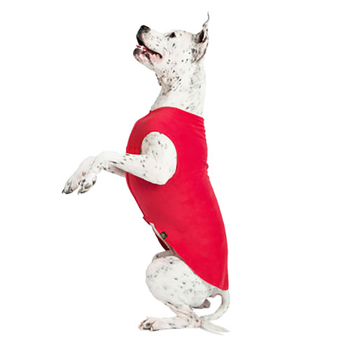Gold Paw Series Stretch Fleece - Red
