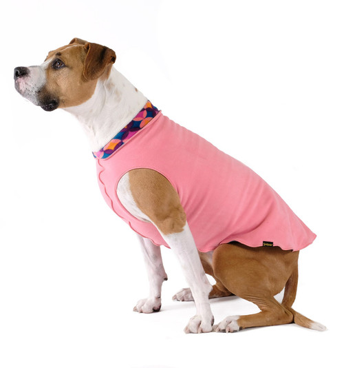 Gold Paw Series Duluth Double Fleece - Coral and Summer Mod