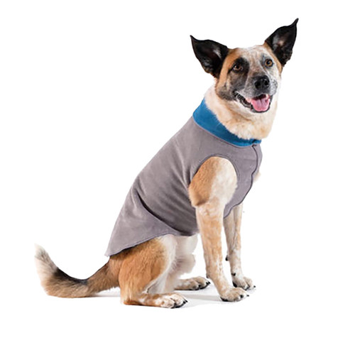 Gold Paw Series Duluth Double Fleece - Charcoal