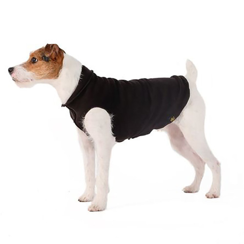 Gold Paw Series Duluth Double Fleece - Black