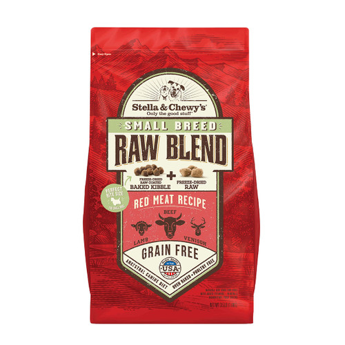 Small Breed Red Meat Blend Stella Kibble 3.5lb