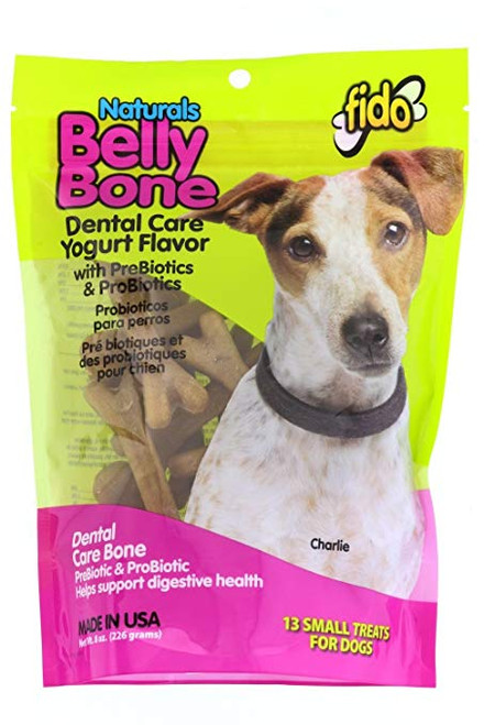 Fido Naturals Belly & Dental Bone- Small Dog 13 pk