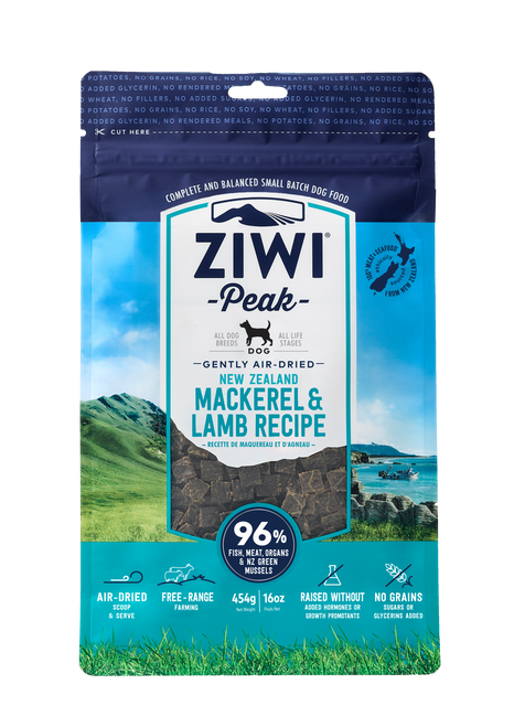 Ziwi Peak Mack and Lamb Air Dried