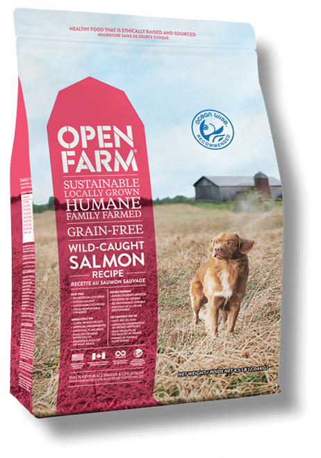Open Farm-Salmon front