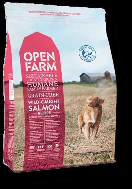 Open Farm-Salmon front