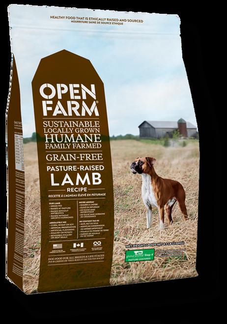 Open Farm- Lamb front