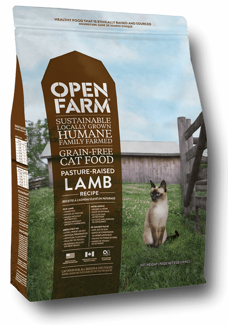 Open Farm pasture raised lamb- cat