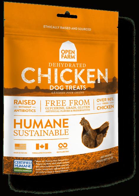 Open Farm Dehydrated Chicken Dog Treats - 4.5oz