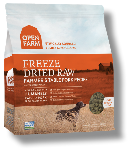 Freeze Dried Pork Open Farm