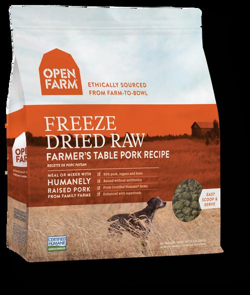 Freeze Dried Pork Open Farm