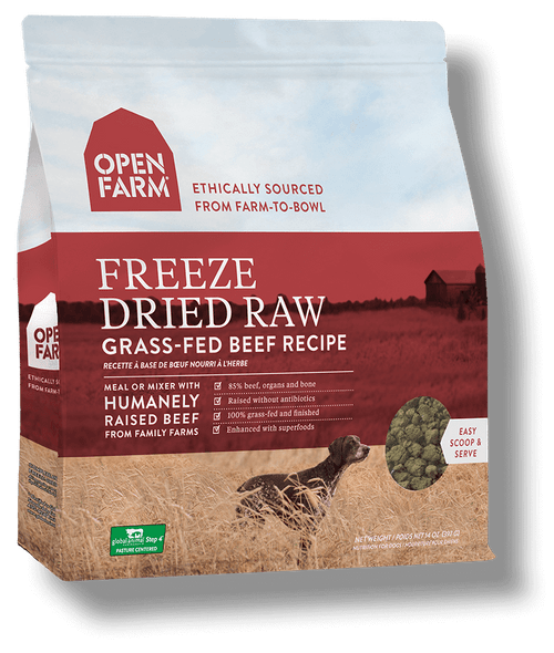 Open Farm Freeze Dried Beef
