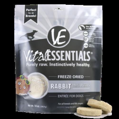 Vital Rabbit Dog Food Patties Freeze Dried