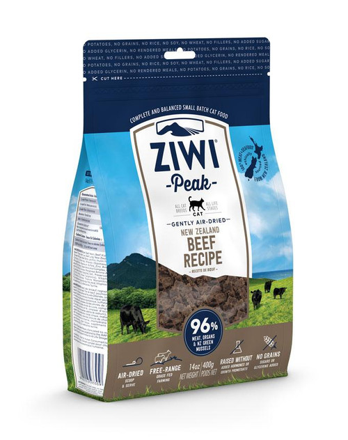 ZIWIPeak beef Cat 14 oz