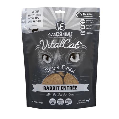 Vital Cat  Rabbit Mini Patties