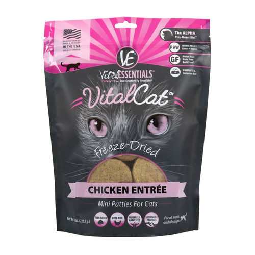 Vital Cat Chicken Patties