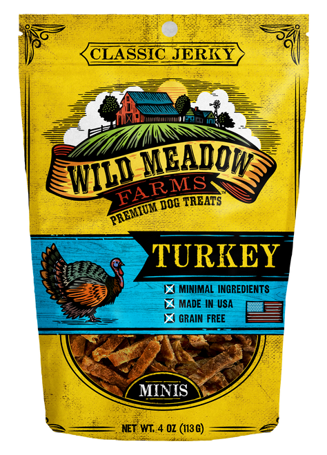 Wild Meadows Mini Jerky Turkey Treats
