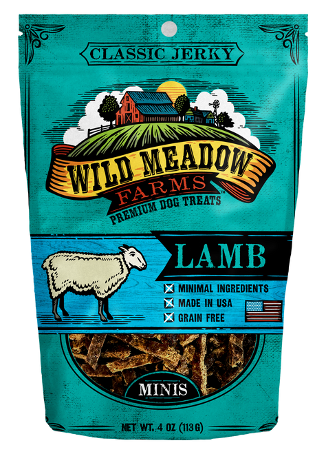 Wild Meadows Lamb Mini Jerky
