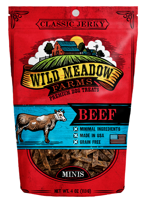 Wild Meadows Mini Beef Jerky