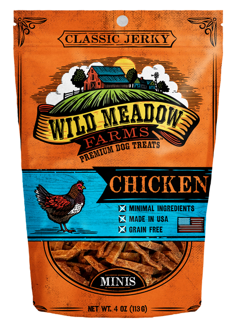 Wild Meadow Farms Mini Chicken Jerky