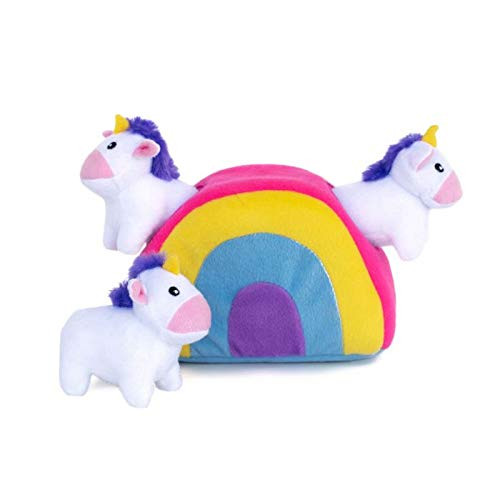 Zippy Paws Unicorn Interactive Toy