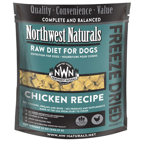 NWN Chicken Freeze Dried Dog Food