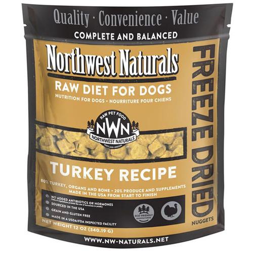 NWN Freeze Dried Turkey Dog Food