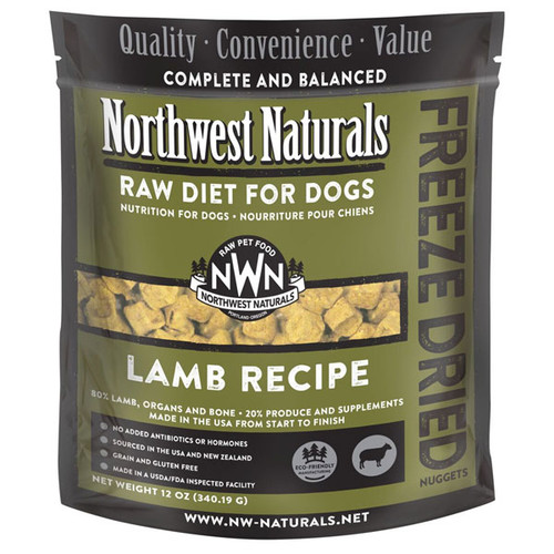 NWN Lamb Freeze Dried Dog Food