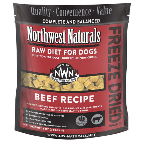 NWN Beef Freeze Dried Dog Food