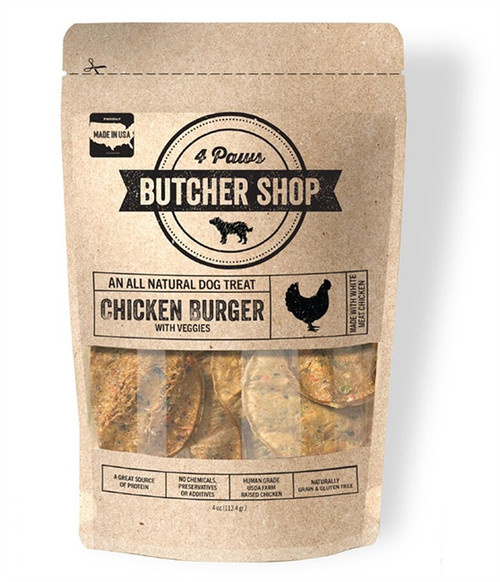 Chicken Burger Natural Dog Treat