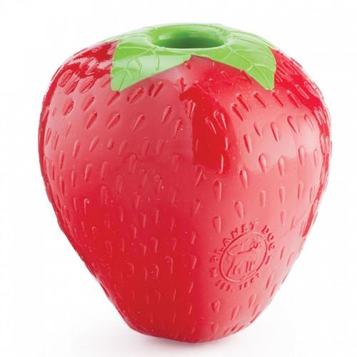 Planet Dog Strawberry Treat Dispensing Toy