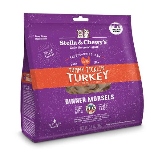Stella & Chewy's Turkey Freeze-Dried Cat Food 18oz