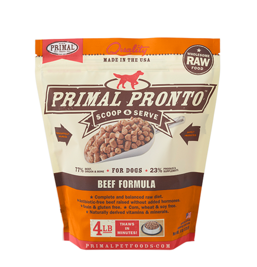 Pronto Beef Primal 4 lb
