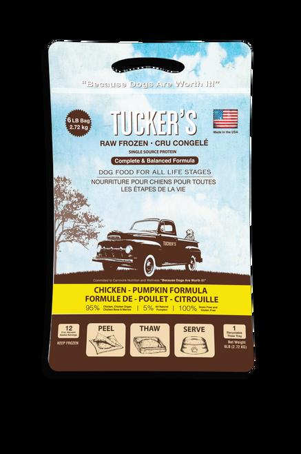 Tucker's Raw Food Frozen Chicken Patties 6 lb