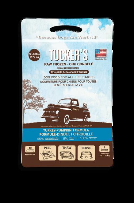 Tucker's Pumpkin & Turkey 6 lb Patties
