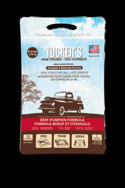 Tucker's Pumpkin & Beef 6 lb Patties