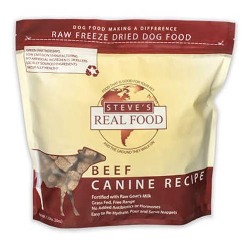 Steve's Real Food Beef 1.25# Freeze Dried