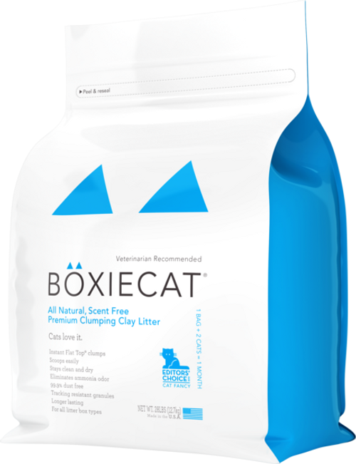 Boxie Cat Litter 28 lb Scent-Free