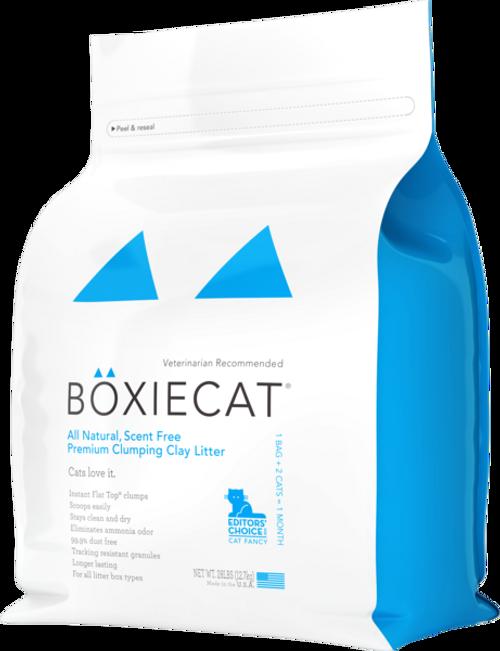 Boxie Cat Litter 28 lb Scent-Free