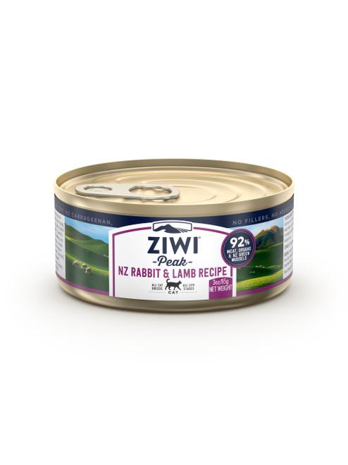 Rabbit and Lamb Ziwi Peak Cat Cans 3oz