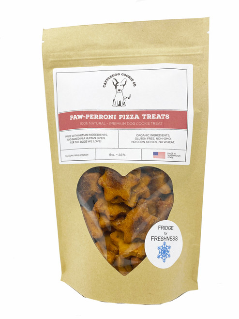 Paw-Perroni Pizza Cattle Dog Treats