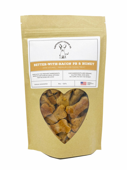 Better with Bacon Cattle Dog Treats