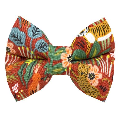 Jungle Dog Bow Tie