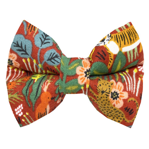 Jungle Dog Bow Tie