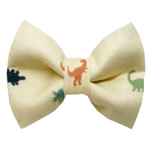 Dino Land Dog Bow Tie