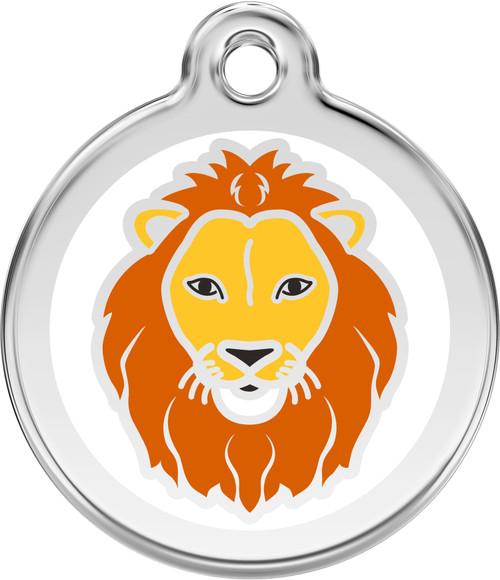 Red Dingo Lion Tag